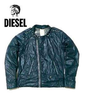 Diesel Biker Jackets not avirex  harley yellow corn