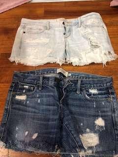🚚 Abercrombie Denim Shorts