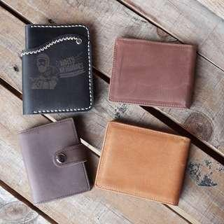 Leather Wallet Noisy Neighbors