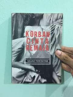 Novel terfaktab korban cinta remaja