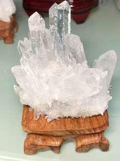 天然白水晶簇(79*80*51.3mm)