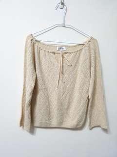 🚚 [售/換] Joan 專櫃品牌 羊毛針織上衣