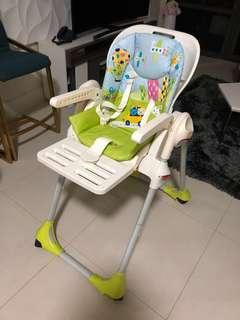 Authentic chicco high chair..