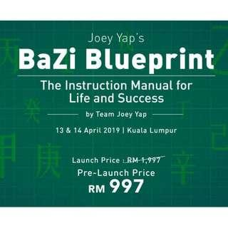 BaZi Blueprint Course by Joey Yap