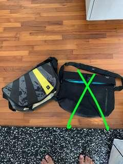 2 Crumpler bags for sale (used, signs of wear)