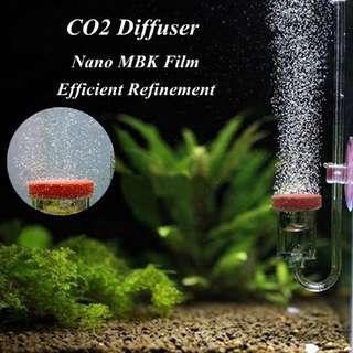 4 in 1 Acrylic Aquarium CO2 Diffuser Check Valve Bubble Plant Fish Tank