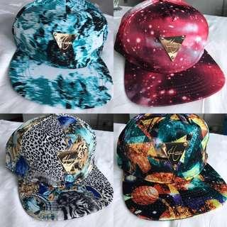 Assorted Unisex Hater Galaxy Snapback Caps  MakeSpacewithLove a0f5b509e0ed