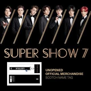 Super Junior - Siwon Scotch Name Tag