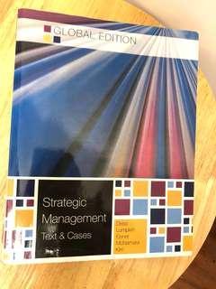 全無劃花一筆 Strategic Management text and cases global edition 6E Mc Graw Hill
