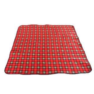 Outdoor suede picnic mat folding mat waterproof camping mat