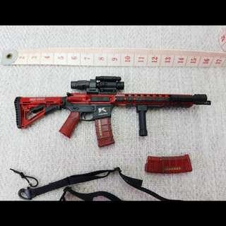 1/6 M4 (M4A1 / M4E1) Rifle loose from Flagset 73010 [phicen / TBLeague / Hot Toys / Weapons / Diorama / Gun]