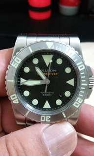 Helson Shark Diver 500m Tool Dive Watch
