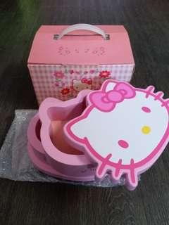 Hello Kitty 2 層多用途盒