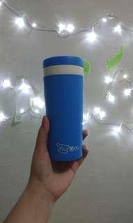 #bersihbersih Tumblr Botol Minum Plastik Termos 300 ml