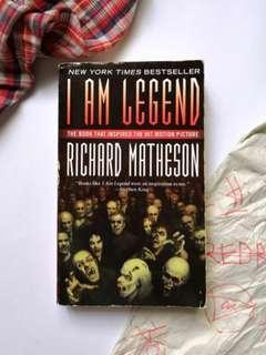 Richard Matheson - I Am Legend, Will Smith, Rare Title English Novel