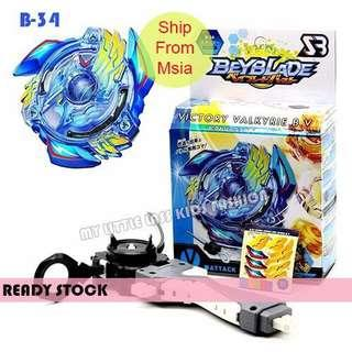 Beyblade Burst Storm Gyro B-34 with Stable Handle Victory Valkyrie.B.V