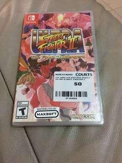 Ultra street fighter 2 switch