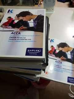 ACCA paper F2 to F5