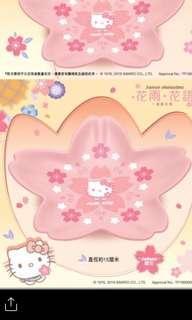 7-11 Sanrio限量版花形陶瓷碟