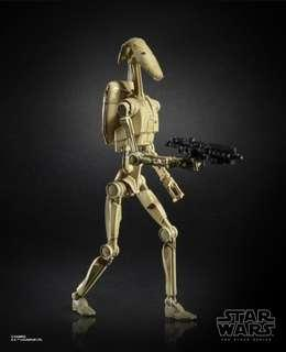 (PRE-ORDER)Star Wars The Black Series 6 Inch: Battle droid