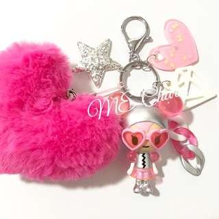Tokidoki Donutella And Her Sweet Friends Series 2 Bubble Luv Bag Charms / Fobs