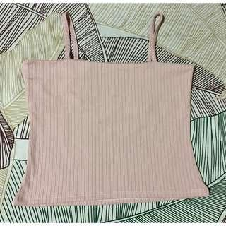 Square Neck Sleeveless Cropped Top