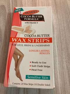 Cocoa Butter Wax Strips