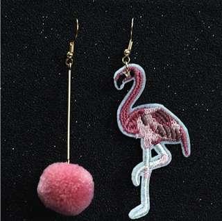 🚚 Flamingo Earring