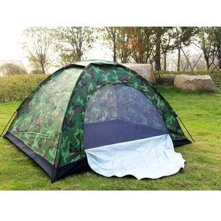 Outdoor tent one layer camping tent