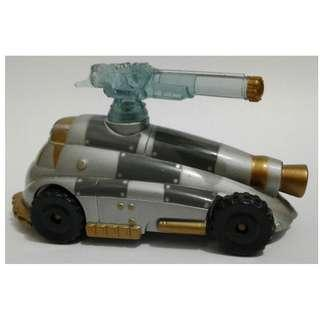 原裝 無包裝 1997年 Hasbro DC COMICS Batman movie 蝙蝠俠 diecast 重合金 Mr. Freeze's With Rotating Ice Cannon exclusive car 1款