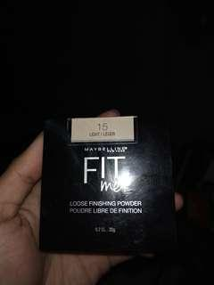 Maybelline Fit me Loose Finishing Powder 15 Light