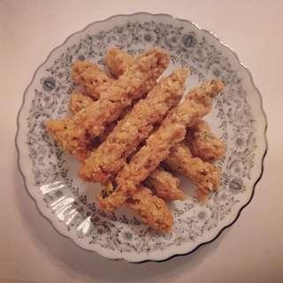 🐟風乾三文魚燕麥條🌾
