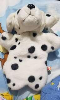 斑點狗(單身狗)手偶