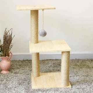 Simple 2-tier Cat Tower