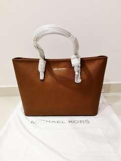 BN Michael Kors Saffiano Leather Tote