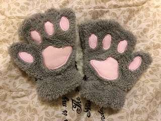 🚚 貓掌肉球手套