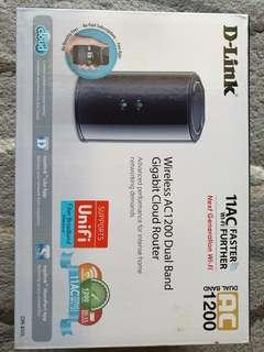 D-Link Wireless AC1200 Mbps Home Cloud Router