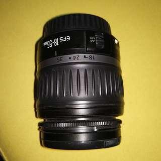 Canon Eos EF mount Lens 18-55mm f/3.5-5.6