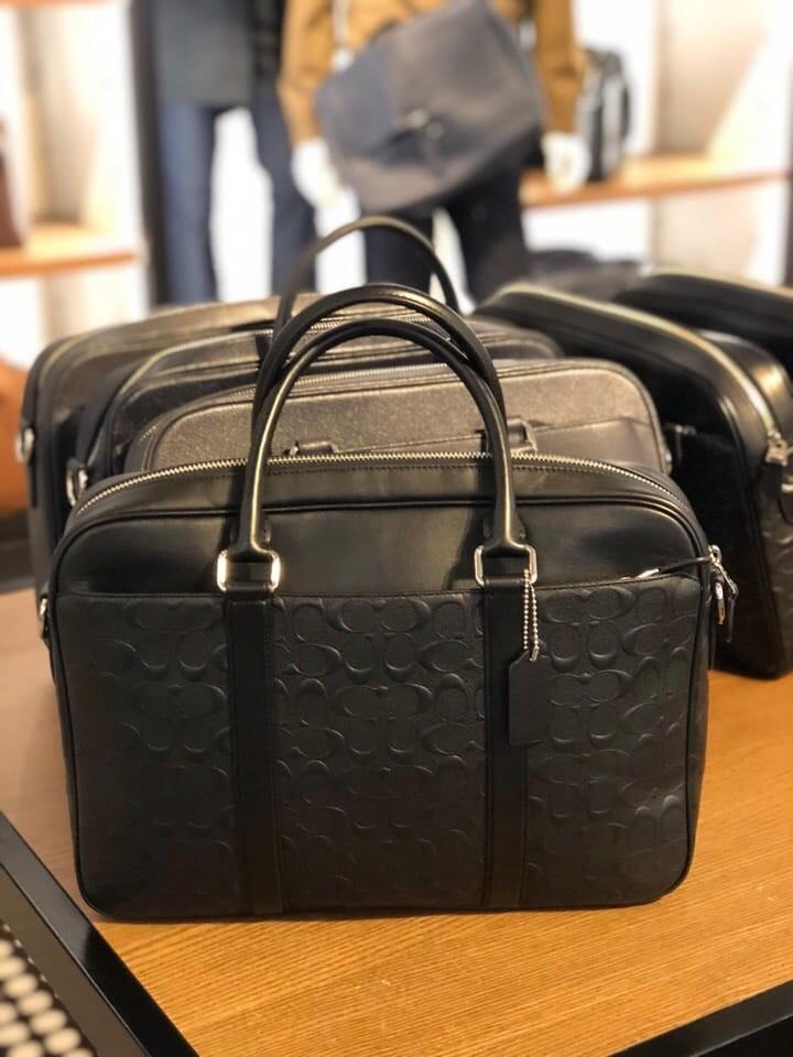 7e64e10b3d87 395- VALENTINES 1 DAY PROMO! Coach Slim Briefcase Embossed Signature ...