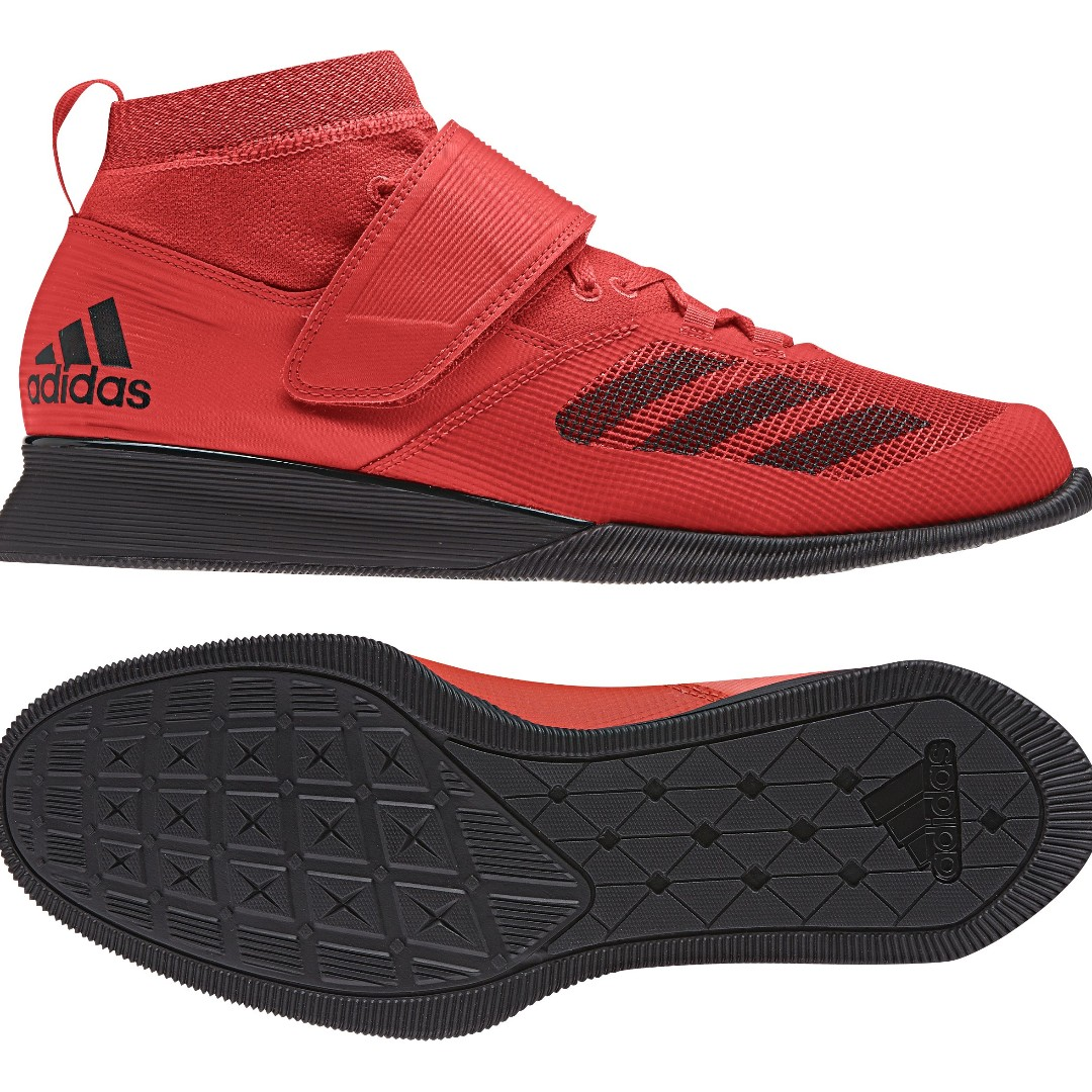 7cdd7d30035d Adidas Crazy Power Shock Red Weightlifting Shoes, Luxury, Shoes on ...
