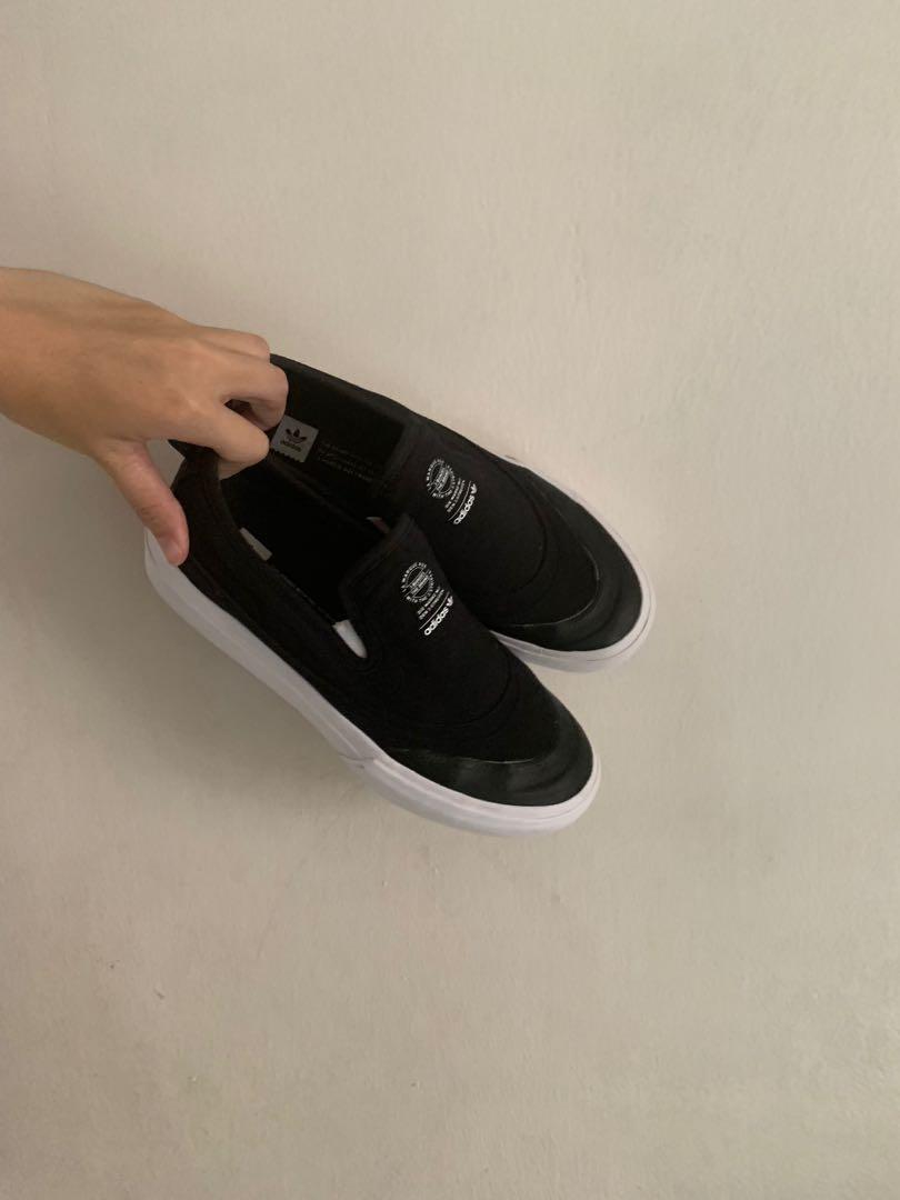 c6af471305ee1 adidas skate boarding matchcourt slip on