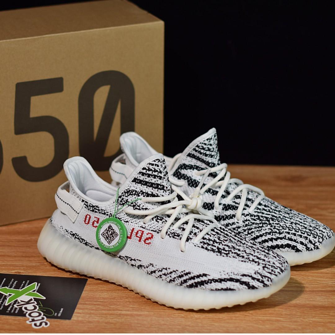 7dfcd86c6a0ae Adidas Yeezy Boost 350 v2 Zebra