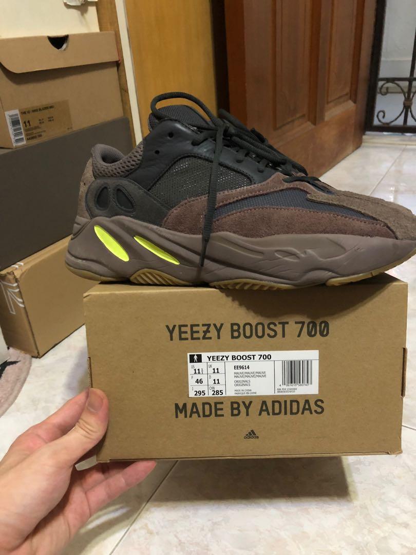 684181f786e Adidas Yeezy boost 700 mauve