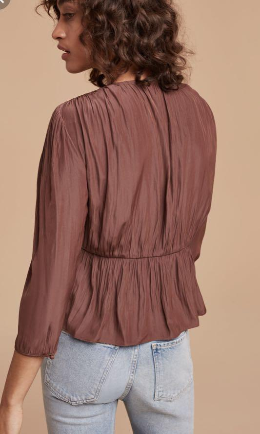 Aritzia Wilfred Shanina Blouse (small)