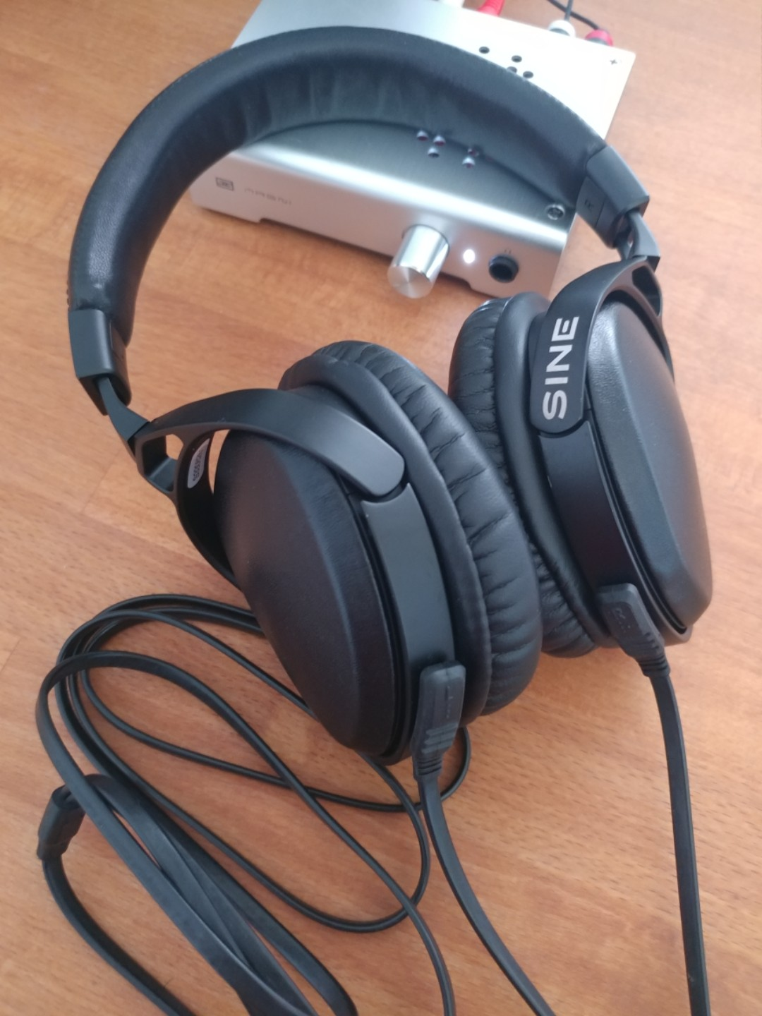 de1fc5b0901 Audeze Sine with 24bit cipher cable(with new over-ear earpads),  Electronics, Audio on Carousell