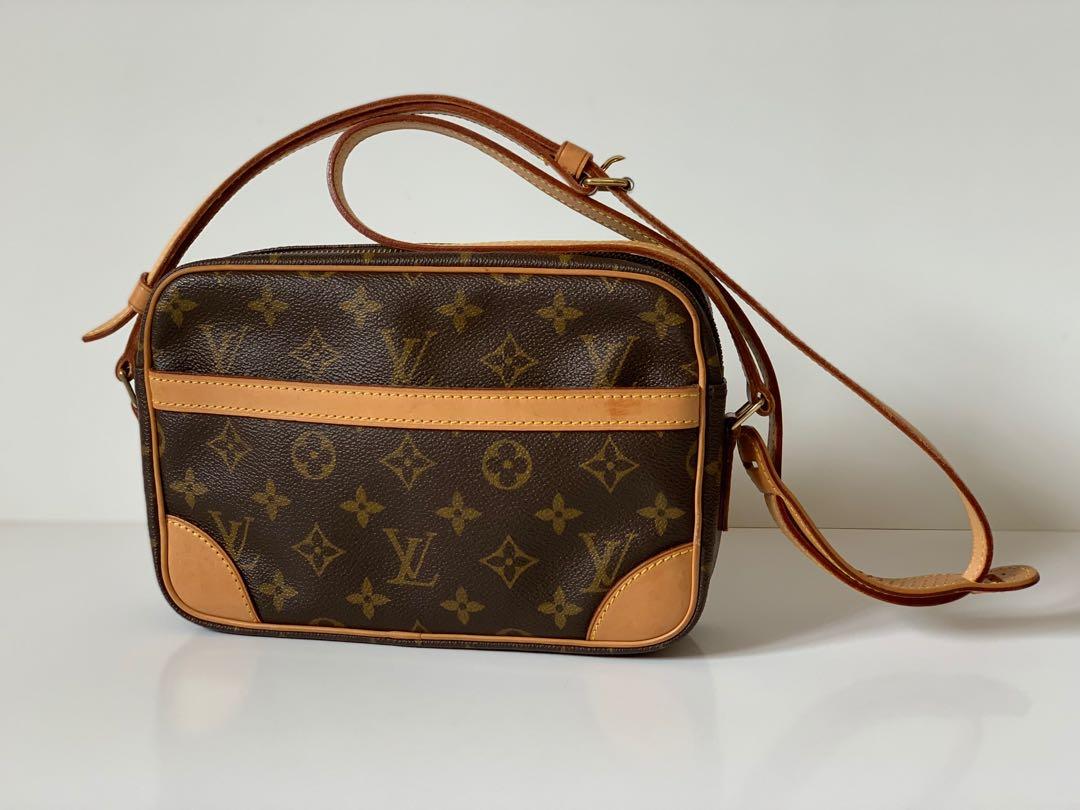 6ba27e07997b Authentic Louis Vuitton Monogram Trocadero 23 Shoulder Sling