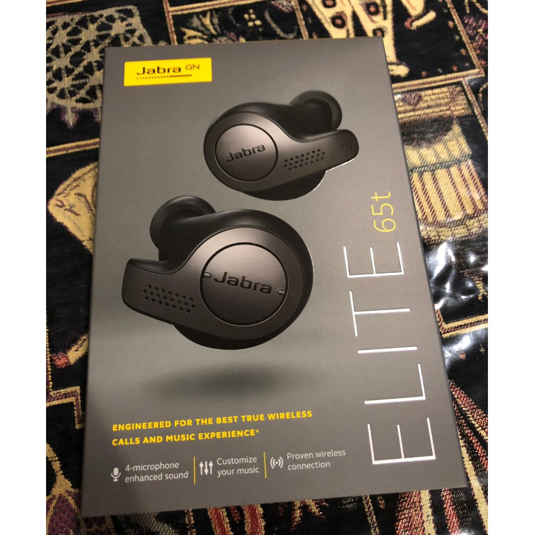 f566af7cc8f BN Jabra elite 65t [Titanium Black], Electronics, Audio on Carousell