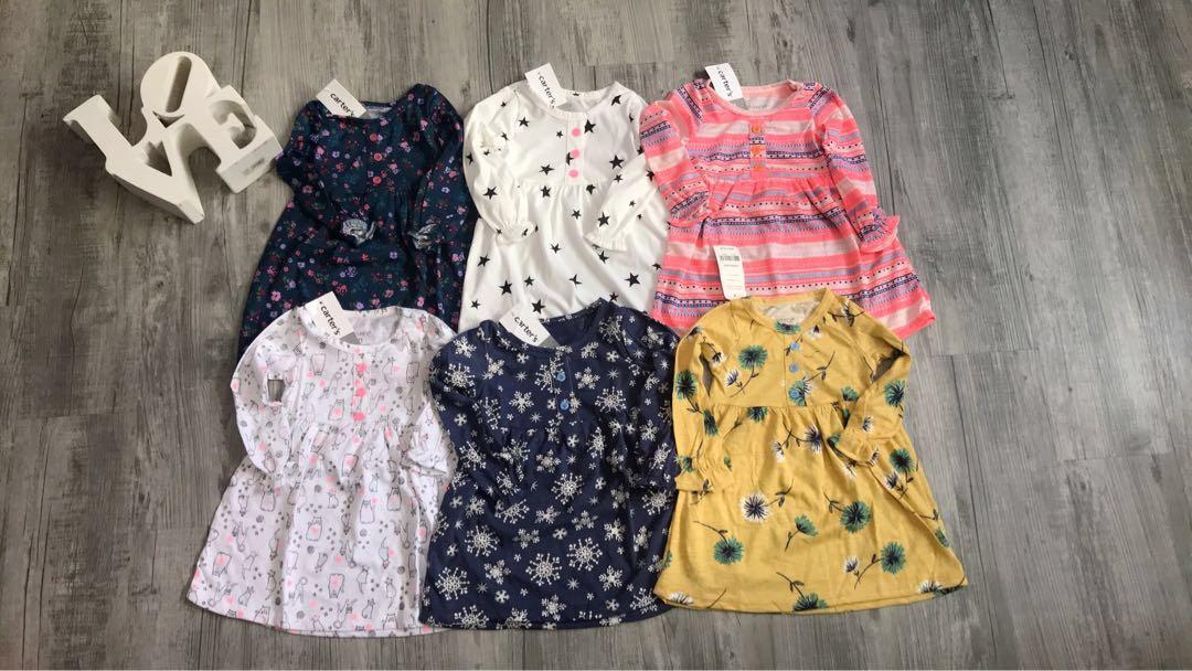 a91b0771ea877 Carter's Baby Girl Dress, Babies & Kids, Girls' Apparel, 1 to 3 ...