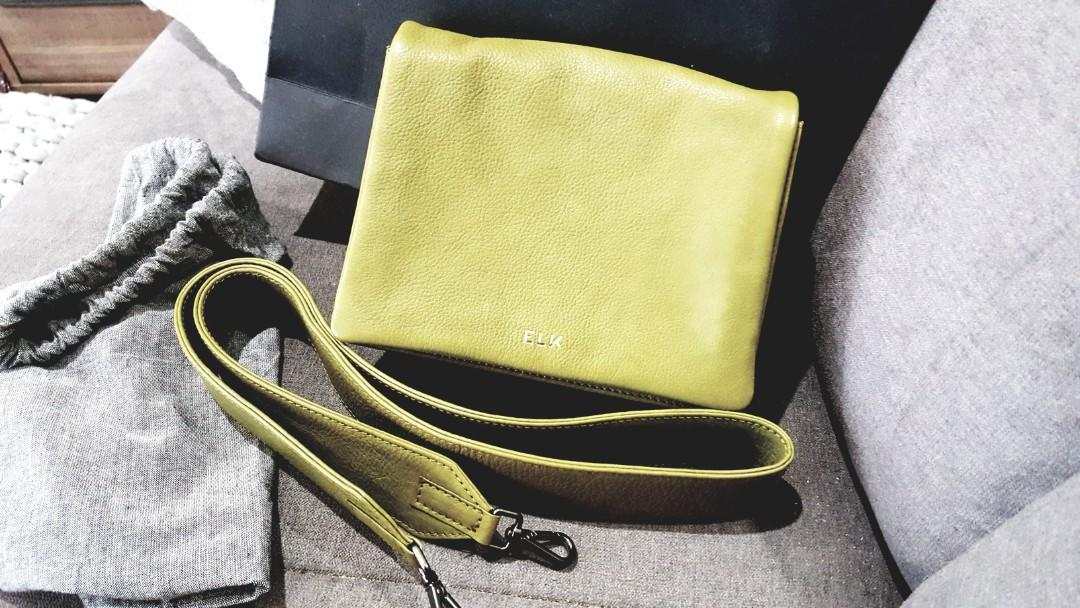 ELK Leather bag - new with tags - with dustbag RRP$225 sell for $100