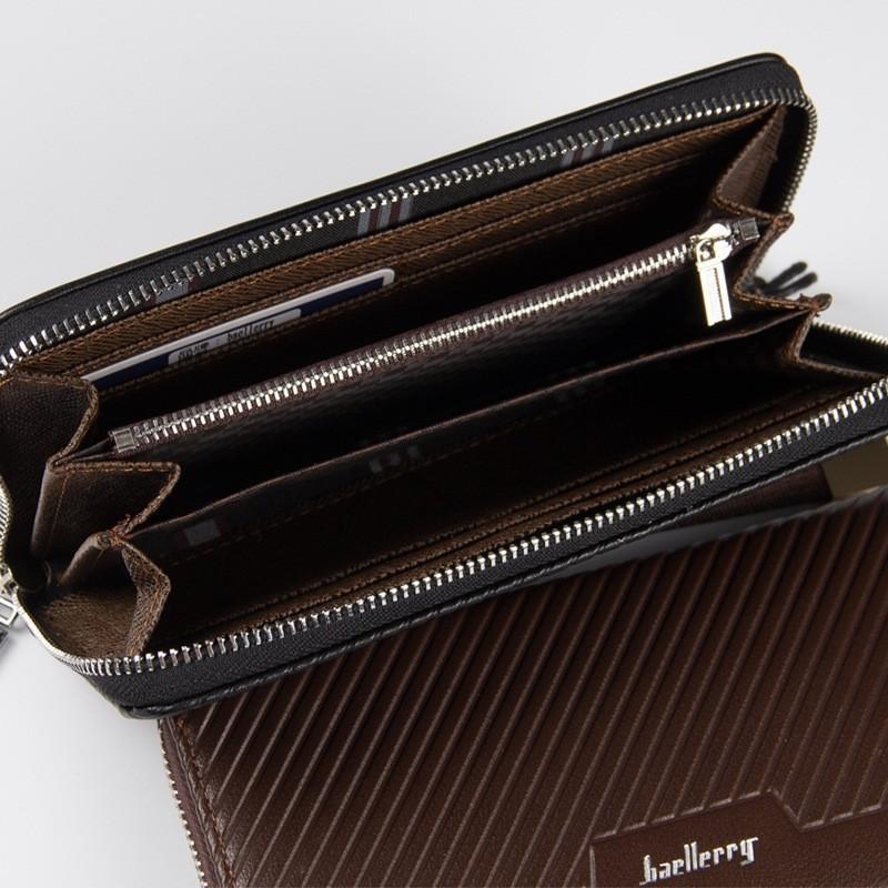 Fashion Choco Baellery Long Purse Wallet Men